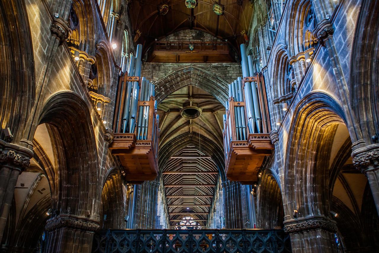 苏格兰格拉斯哥大教堂,细细欣赏_图1-3