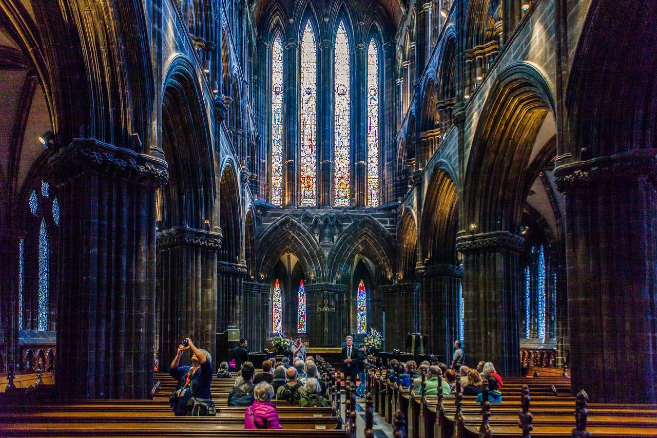 苏格兰格拉斯哥大教堂,细细欣赏_图1-4