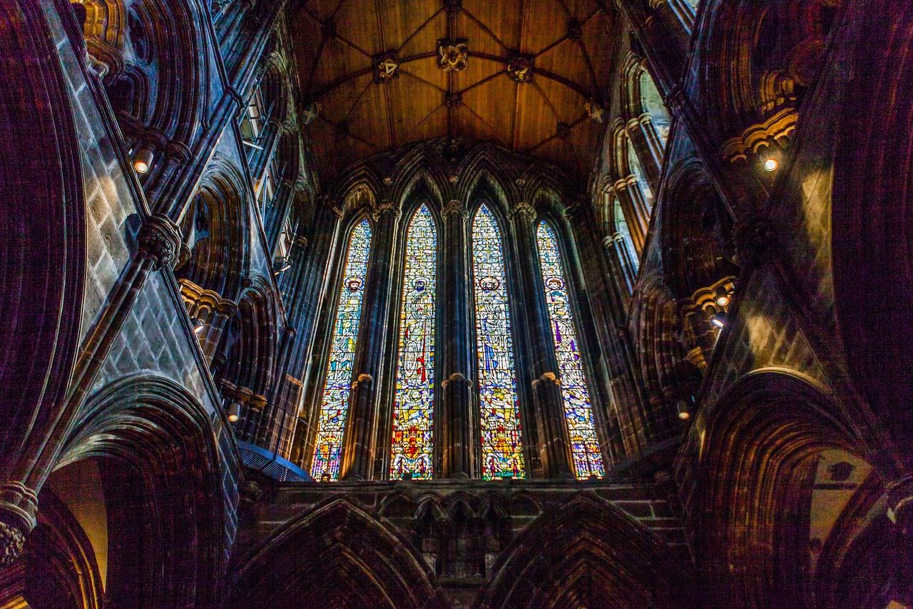 苏格兰格拉斯哥大教堂,细细欣赏_图1-5
