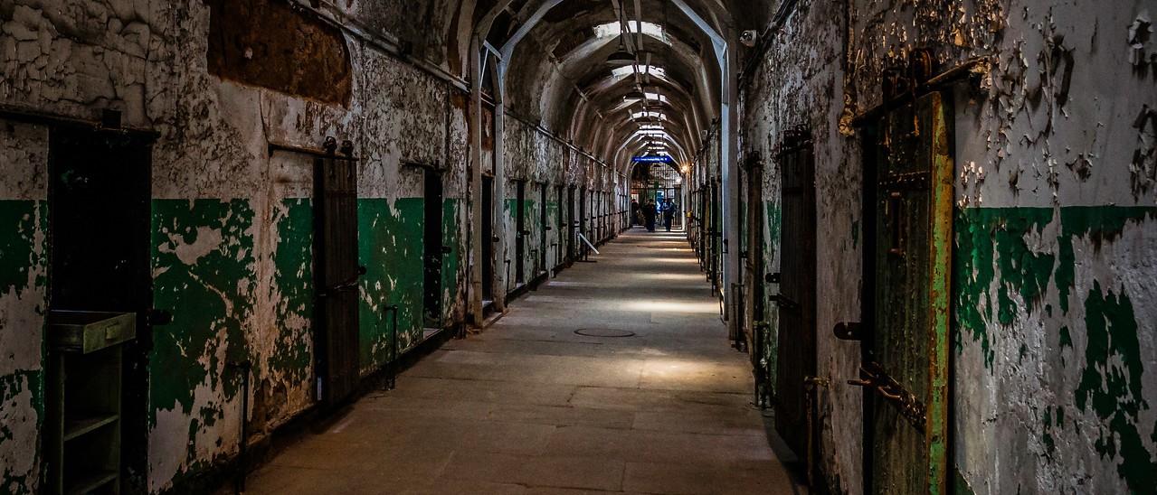 滨州东部州立监狱(Eastern State Penitentiary),一间间一排排_图1-8