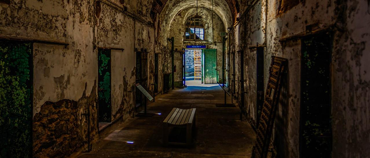 滨州东部州立监狱(Eastern State Penitentiary),一间间一排排_图1-9