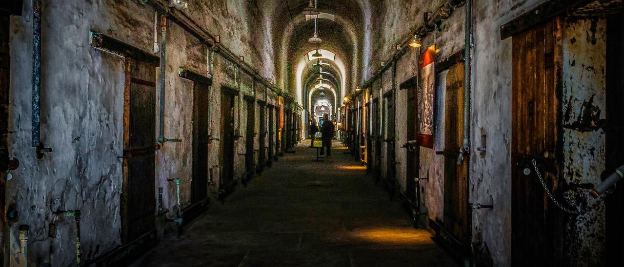 滨州东部州立监狱(Eastern State Penitentiary),一间间一排排_图1-10