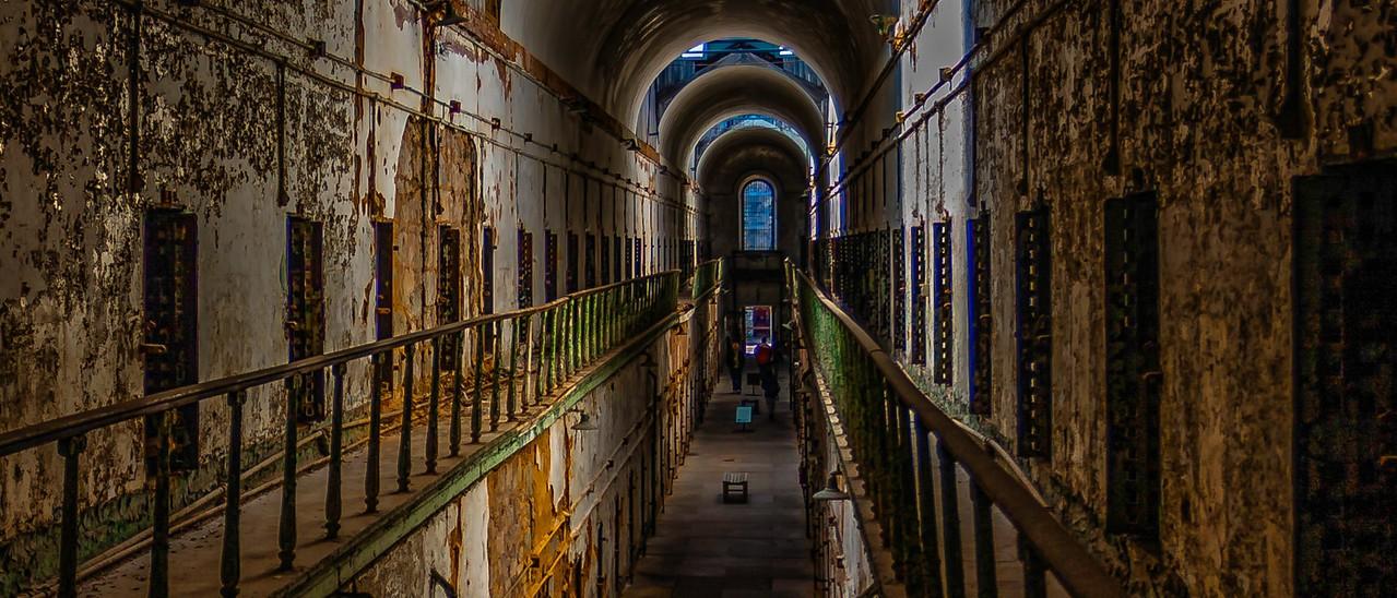 滨州东部州立监狱(Eastern State Penitentiary),一间间一排排_图1-5