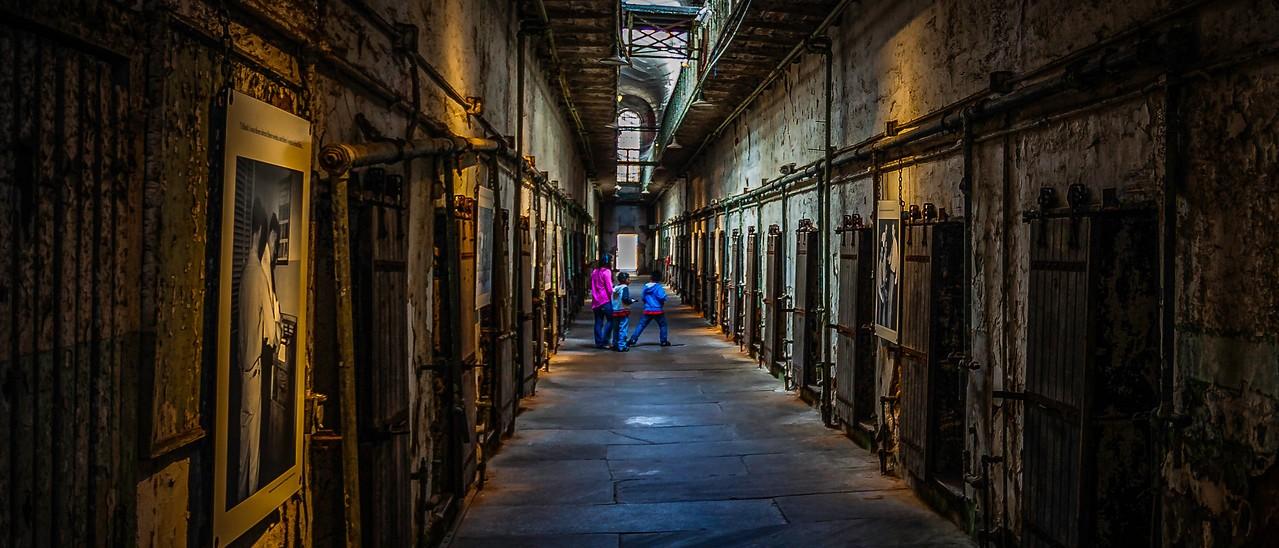 滨州东部州立监狱(Eastern State Penitentiary),一间间一排排_图1-1