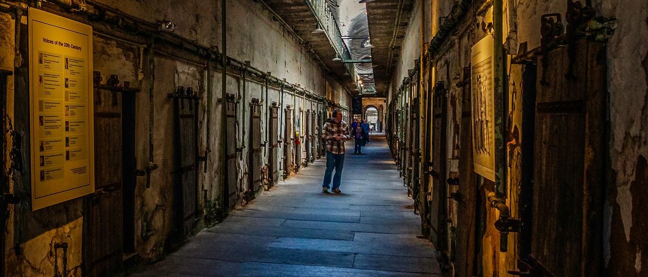 滨州东部州立监狱(Eastern State Penitentiary),一间间一排排_图1-6