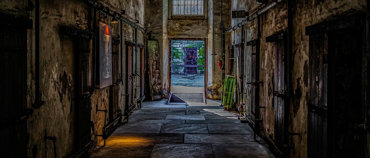 滨州东部州立监狱(Eastern State Penitentiary),一间间一排排_图1-7