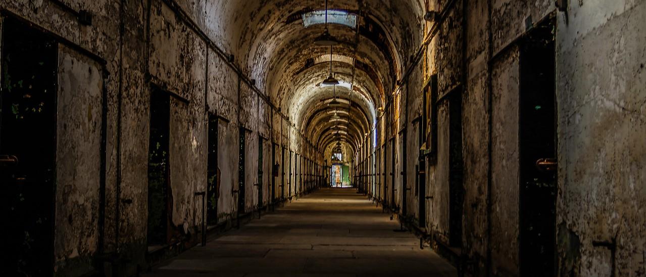 滨州东部州立监狱(Eastern State Penitentiary),一间间一排排_图1-2