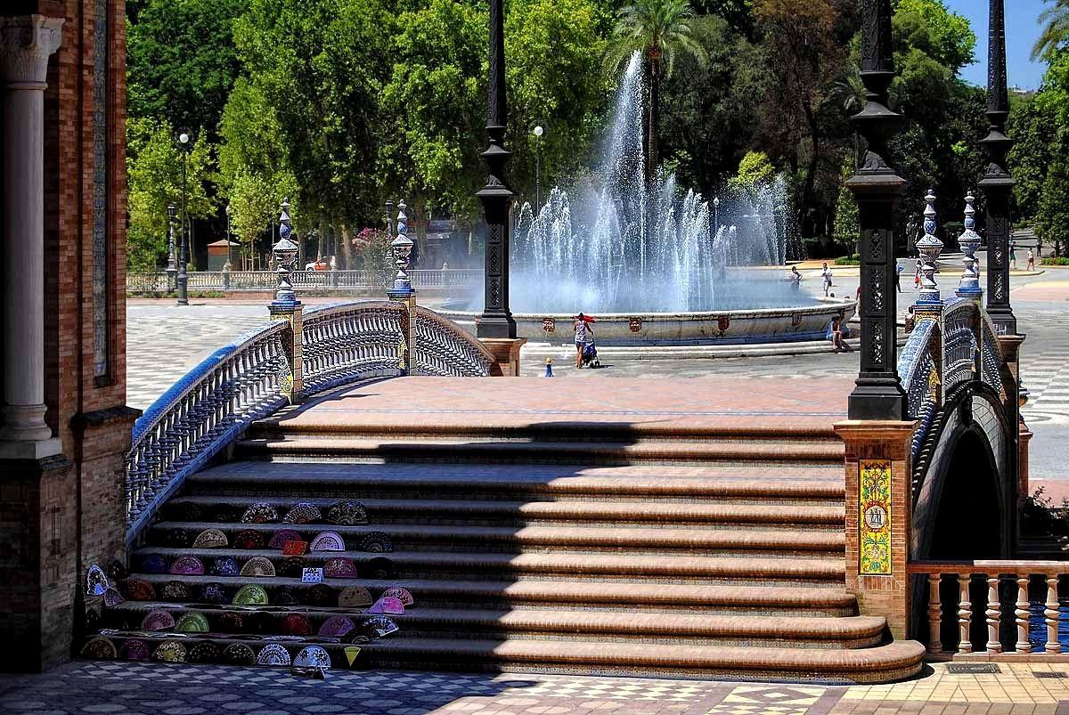 塞维利亚的西班牙广场_图1-4