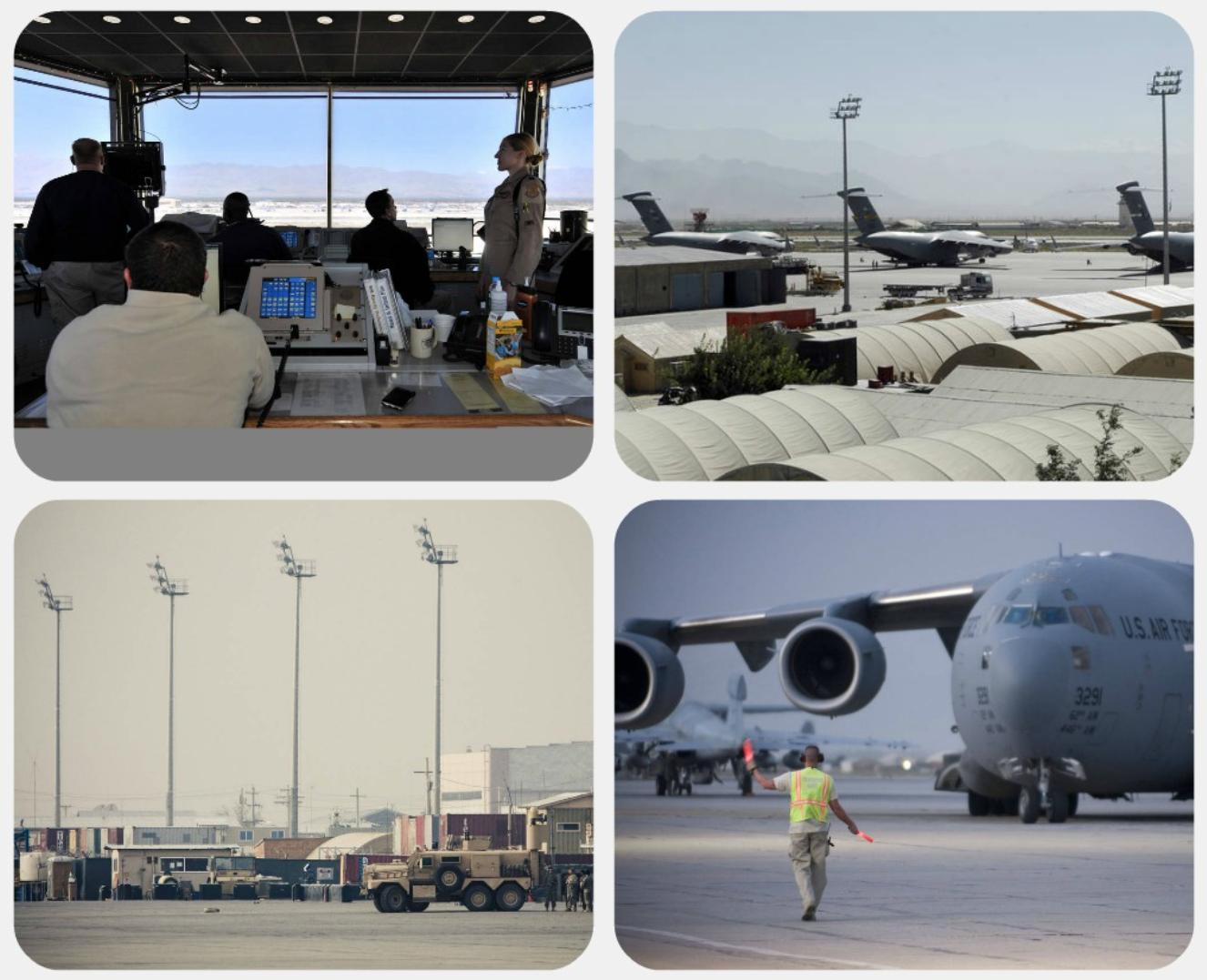 美军在一夜间撤离阿富汗某空军基地_图1-1