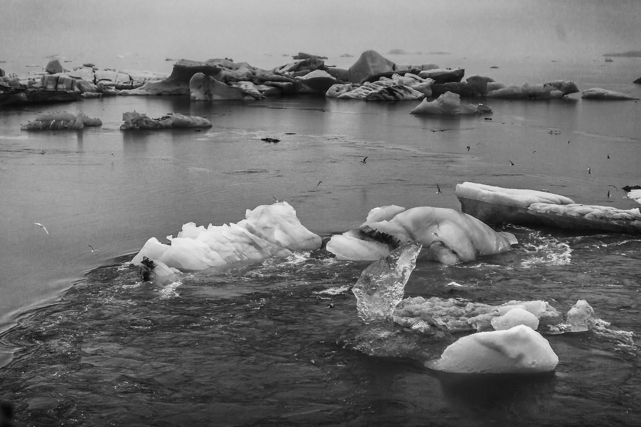 冰岛冰川泻湖(Glacier Lagoon),自然杰作_图1-5