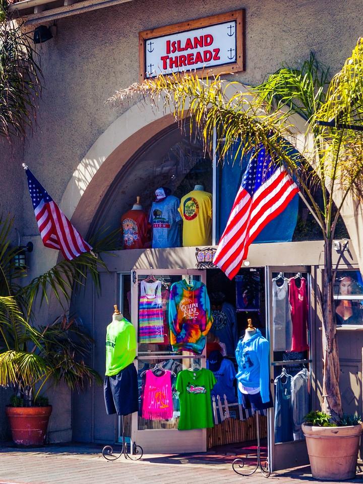 加州圣卡塔利娜岛(Santa Catalina Island),小岛街景_图1-13