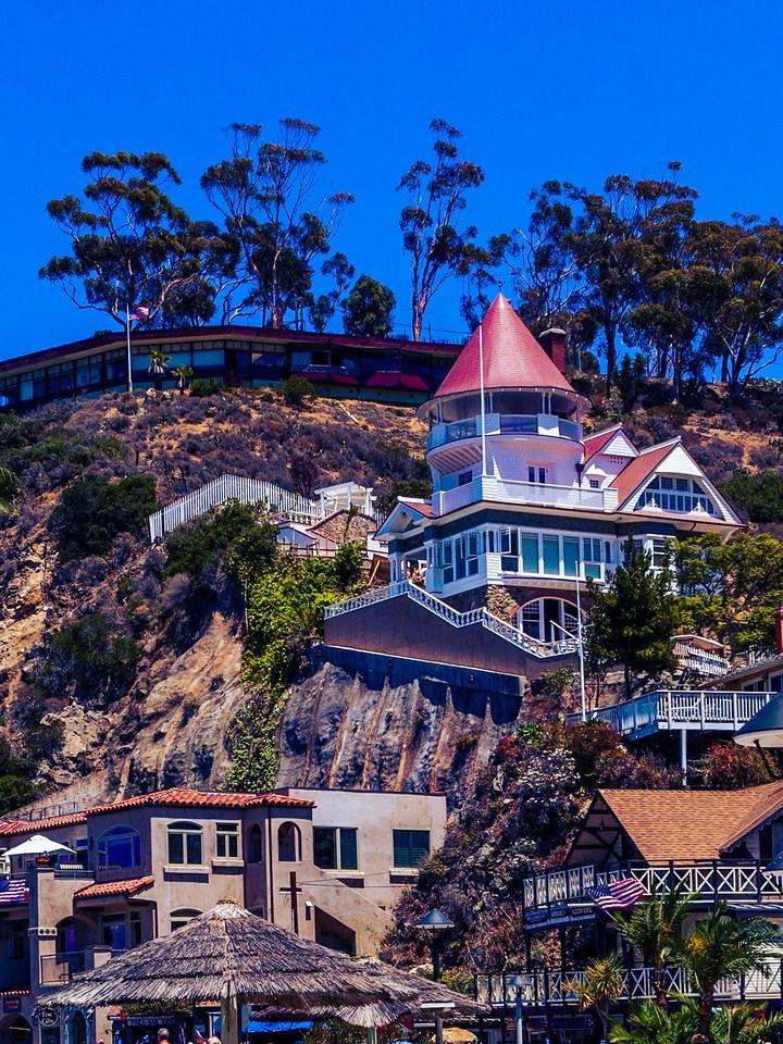 加州圣卡塔利娜岛(Santa Catalina Island),小岛街景_图1-12