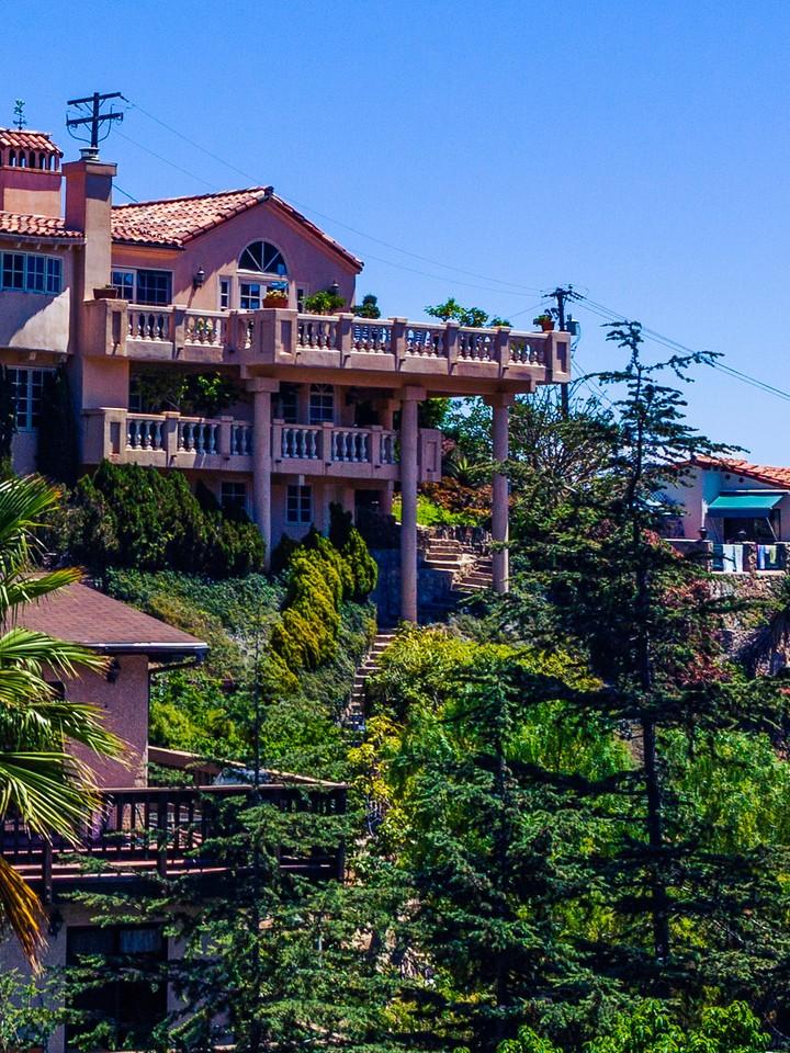 加州圣卡塔利娜岛(Santa Catalina Island),小岛街景_图1-11