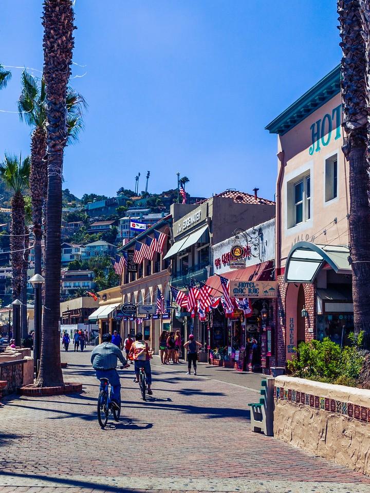 加州圣卡塔利娜岛(Santa Catalina Island),小岛街景_图1-5