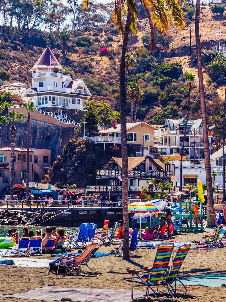加州圣卡塔利娜岛(Santa Catalina Island),小岛街景_图1-8