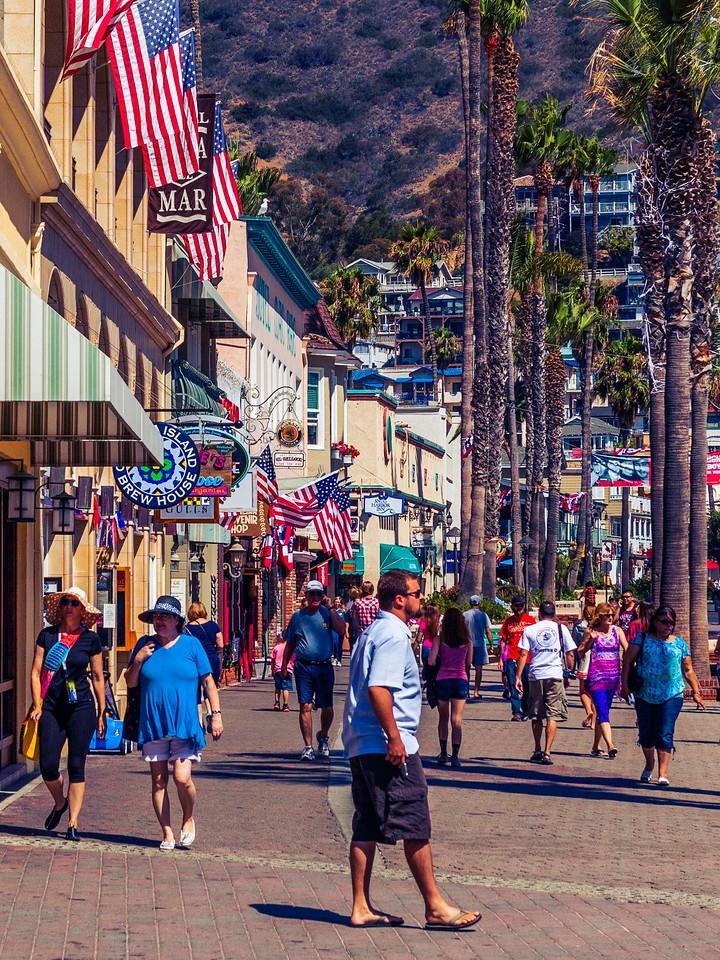 加州圣卡塔利娜岛(Santa Catalina Island),小岛街景_图1-9
