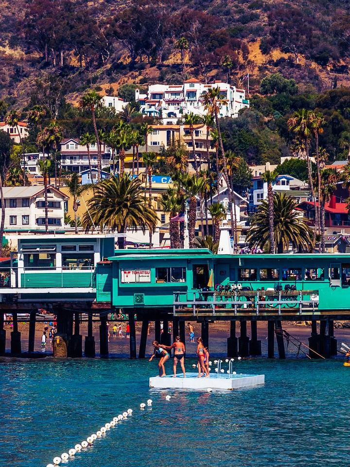 加州圣卡塔利娜岛(Santa Catalina Island),小岛街景_图1-2