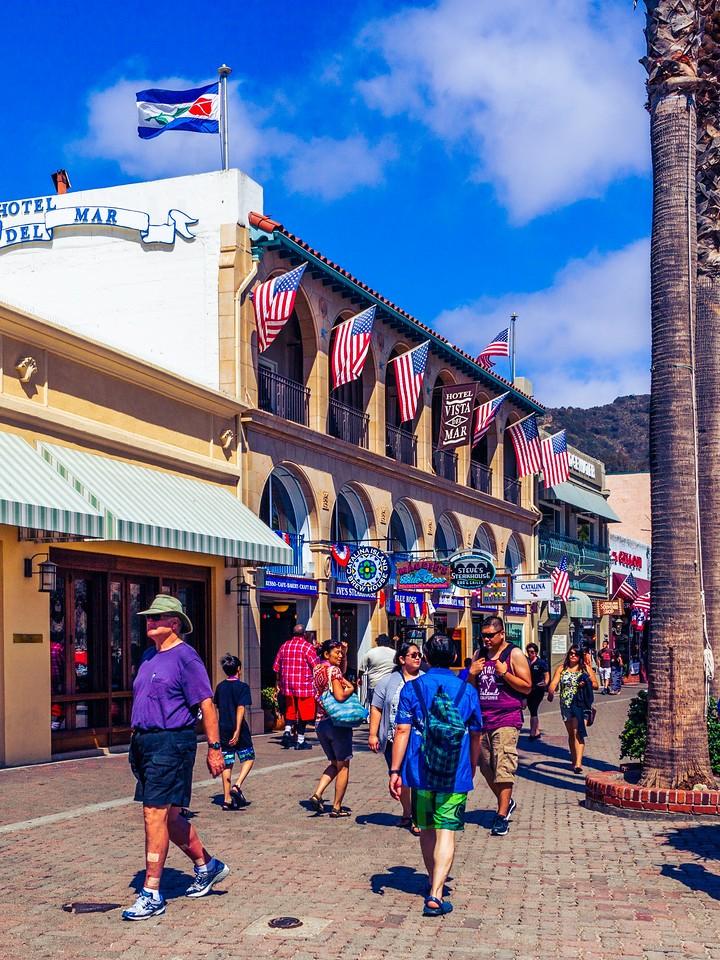 加州圣卡塔利娜岛(Santa Catalina Island),小岛街景_图1-7