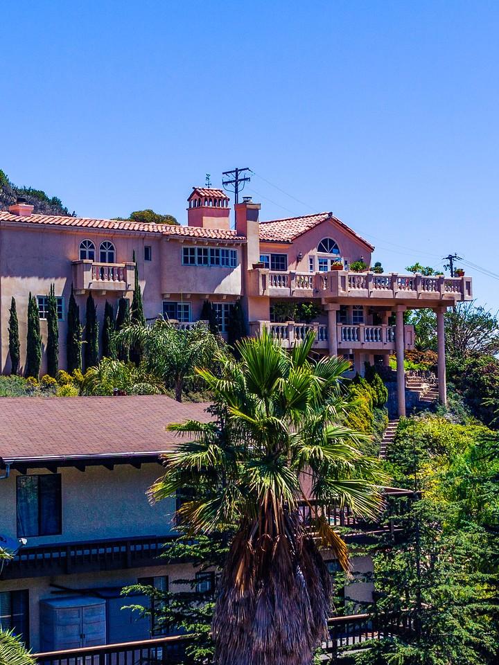 加州圣卡塔利娜岛(Santa Catalina Island),小岛街景_图1-6