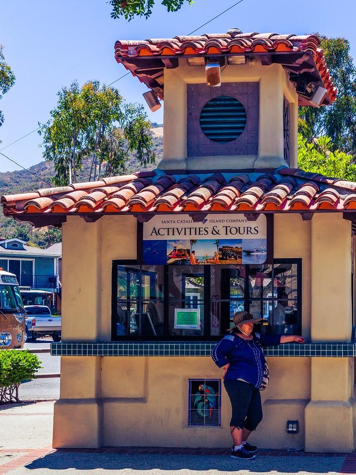 加州圣卡塔利娜岛(Santa Catalina Island),小岛街景_图1-3