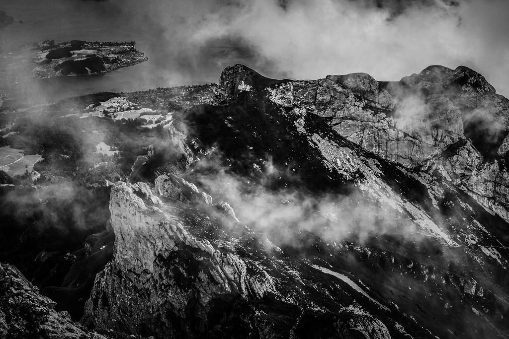 瑞士卢塞恩(Lucerne),俯瞰山峦_图1-4