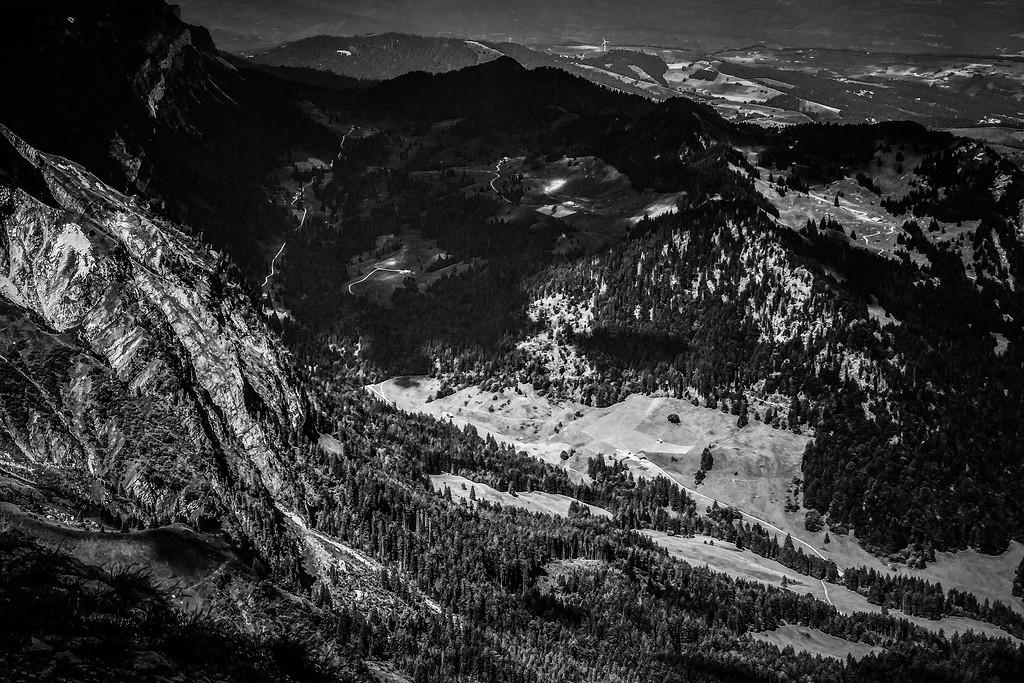 瑞士卢塞恩(Lucerne),俯瞰山峦_图1-9