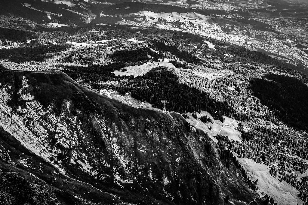 瑞士卢塞恩(Lucerne),俯瞰山峦_图1-15