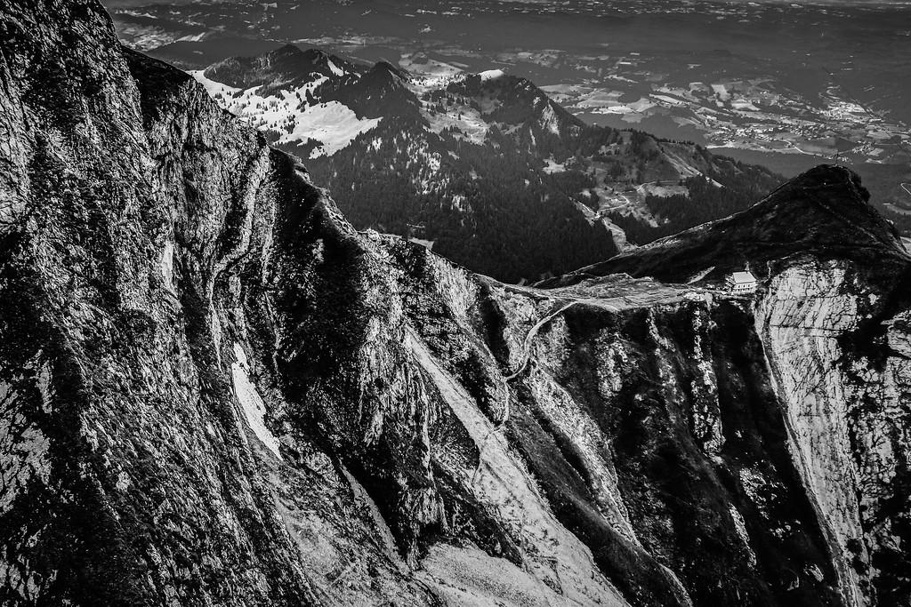 瑞士卢塞恩(Lucerne),俯瞰山峦_图1-18