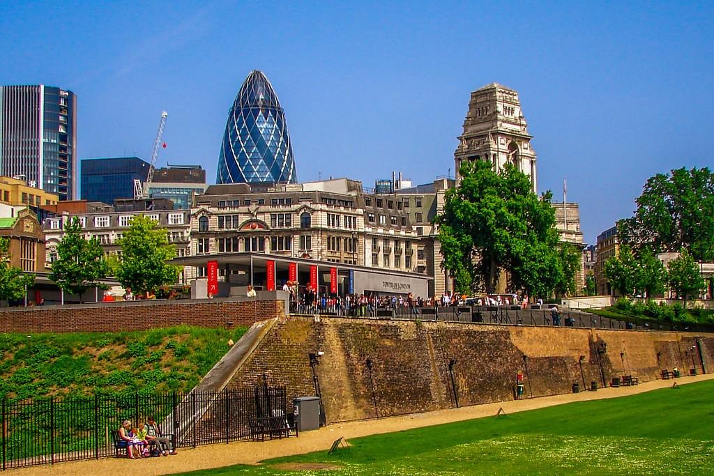 英国伦敦,城市建筑_图1-2