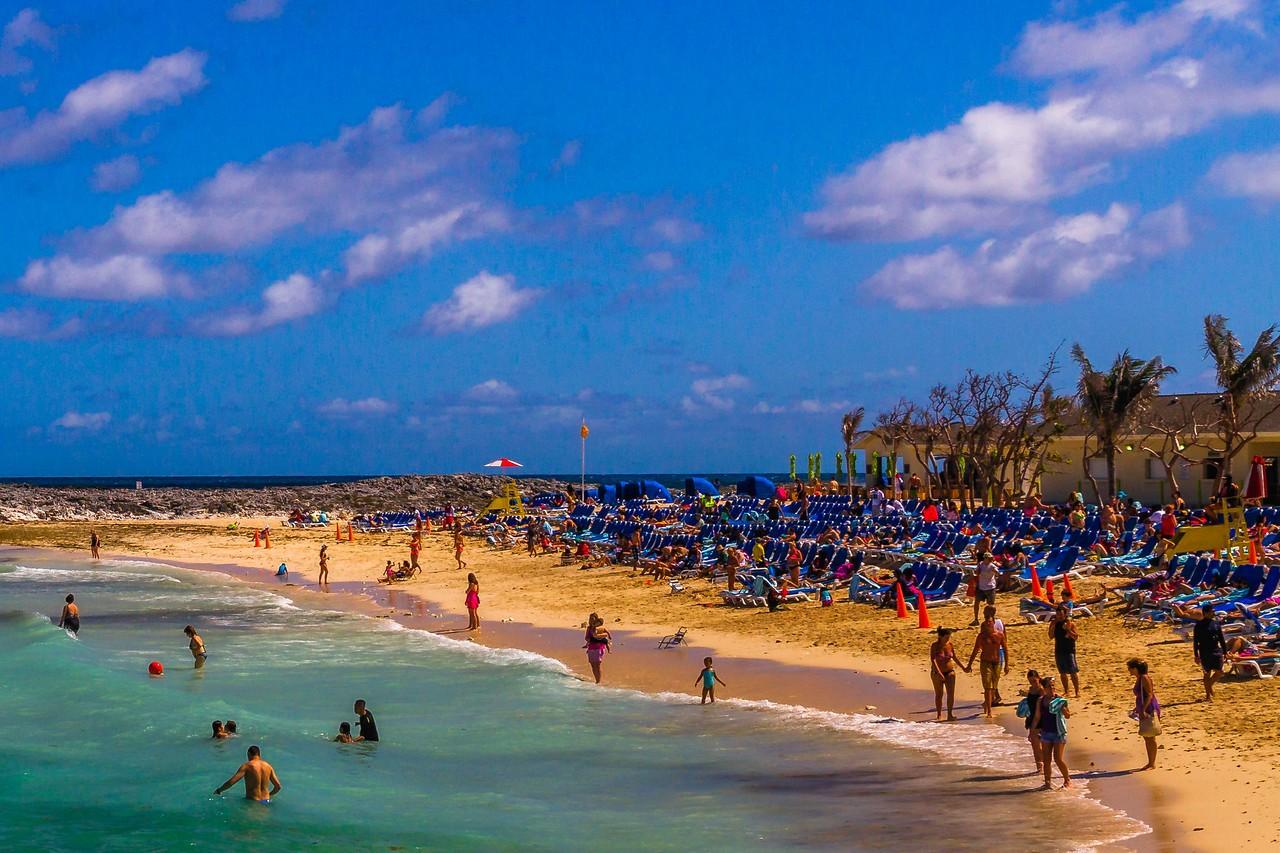 巴哈马大马镫礁(Great Stirrup Cay),海岛风景_图1-6