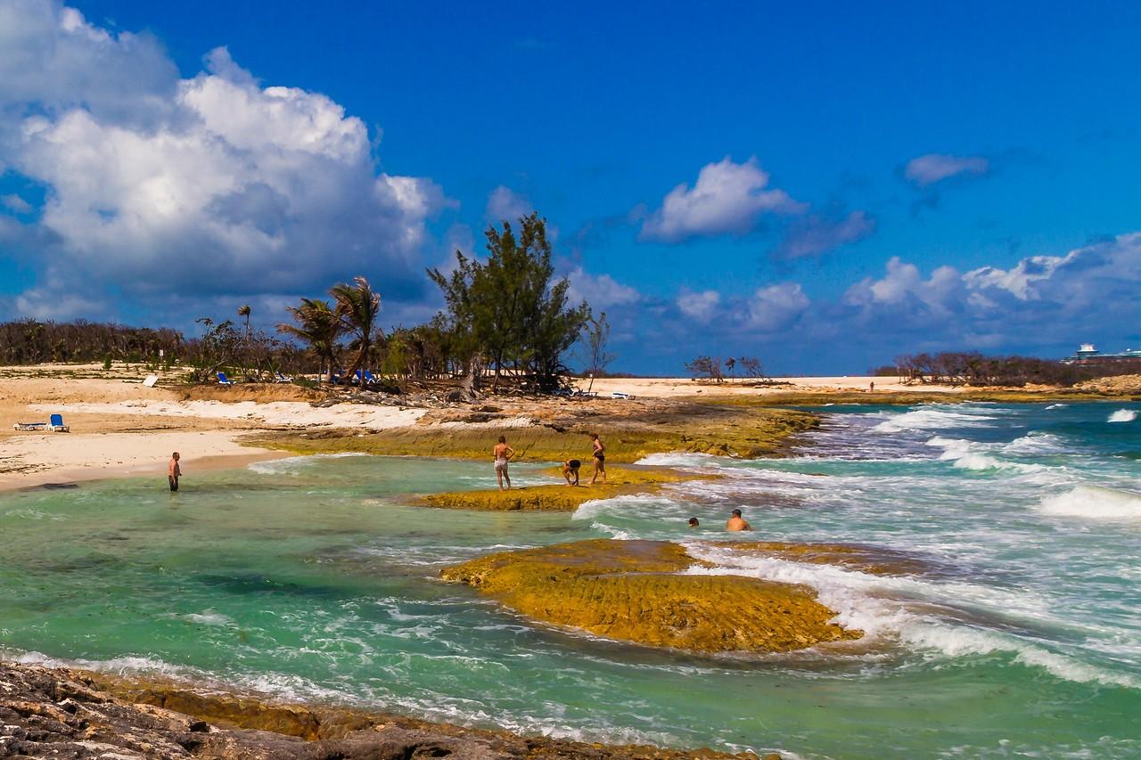 巴哈马大马镫礁(Great Stirrup Cay),海岛风景_图1-1