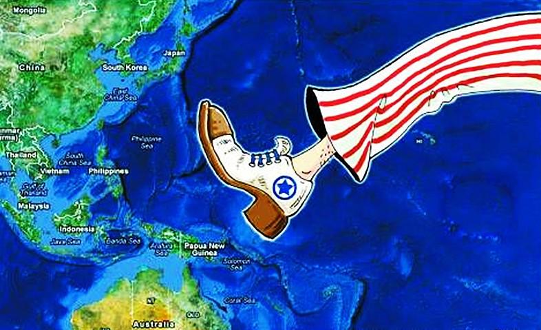 """美国誓将南海""""搅浑"""",意欲何为?_图1-1"""