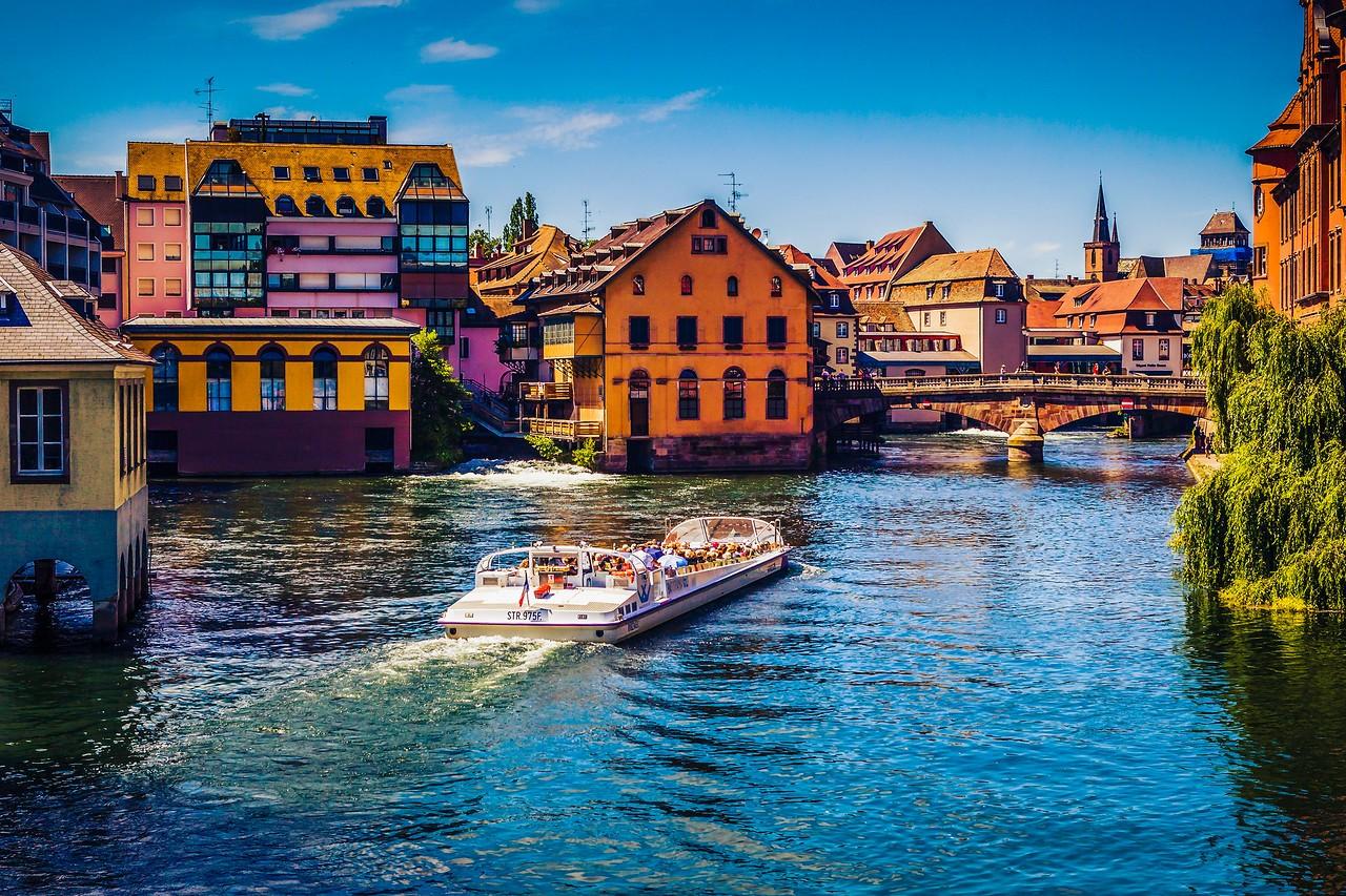 法国斯特拉斯堡(Strasbourg),城市荟萃_图1-2