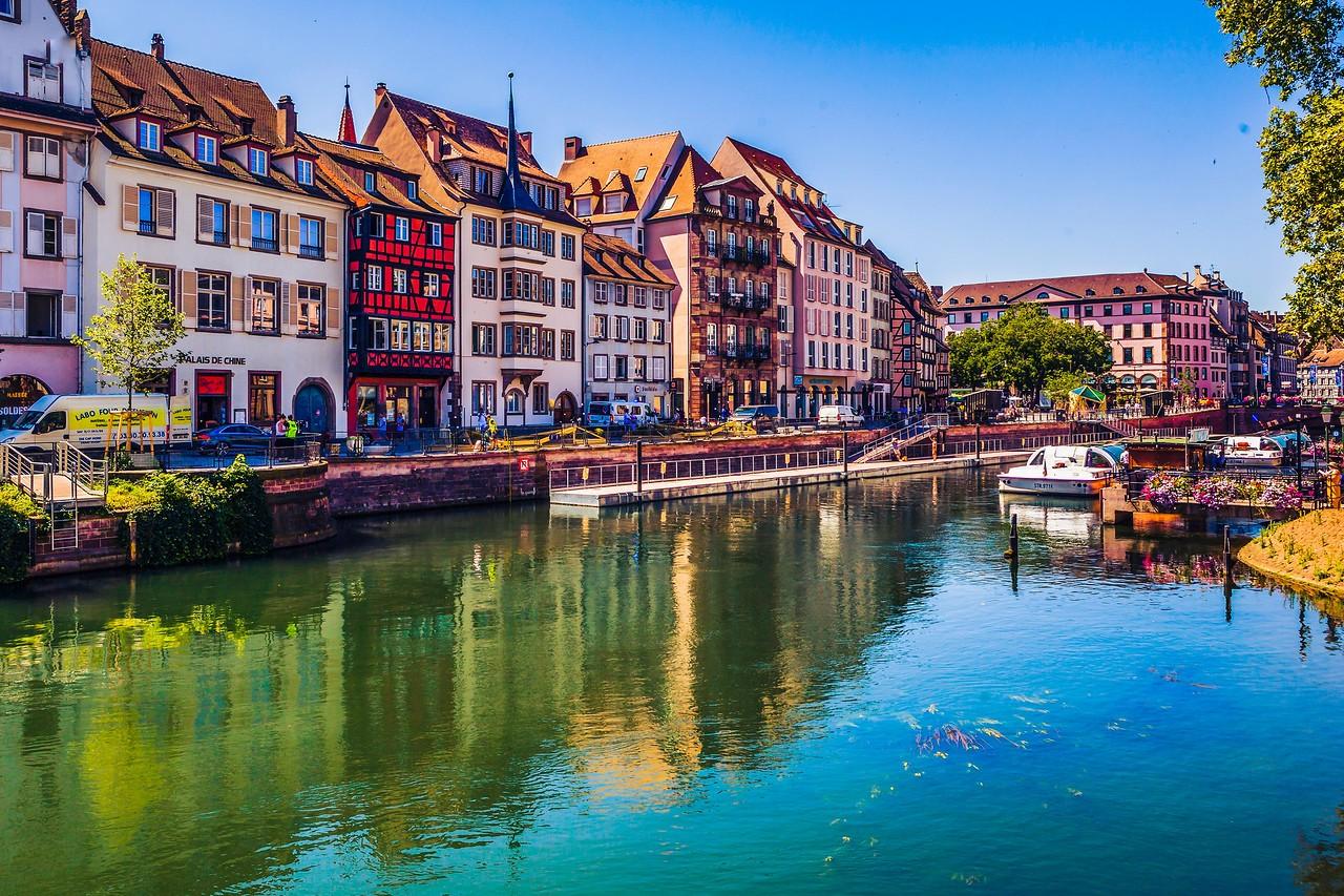 法国斯特拉斯堡(Strasbourg),城市荟萃_图1-4