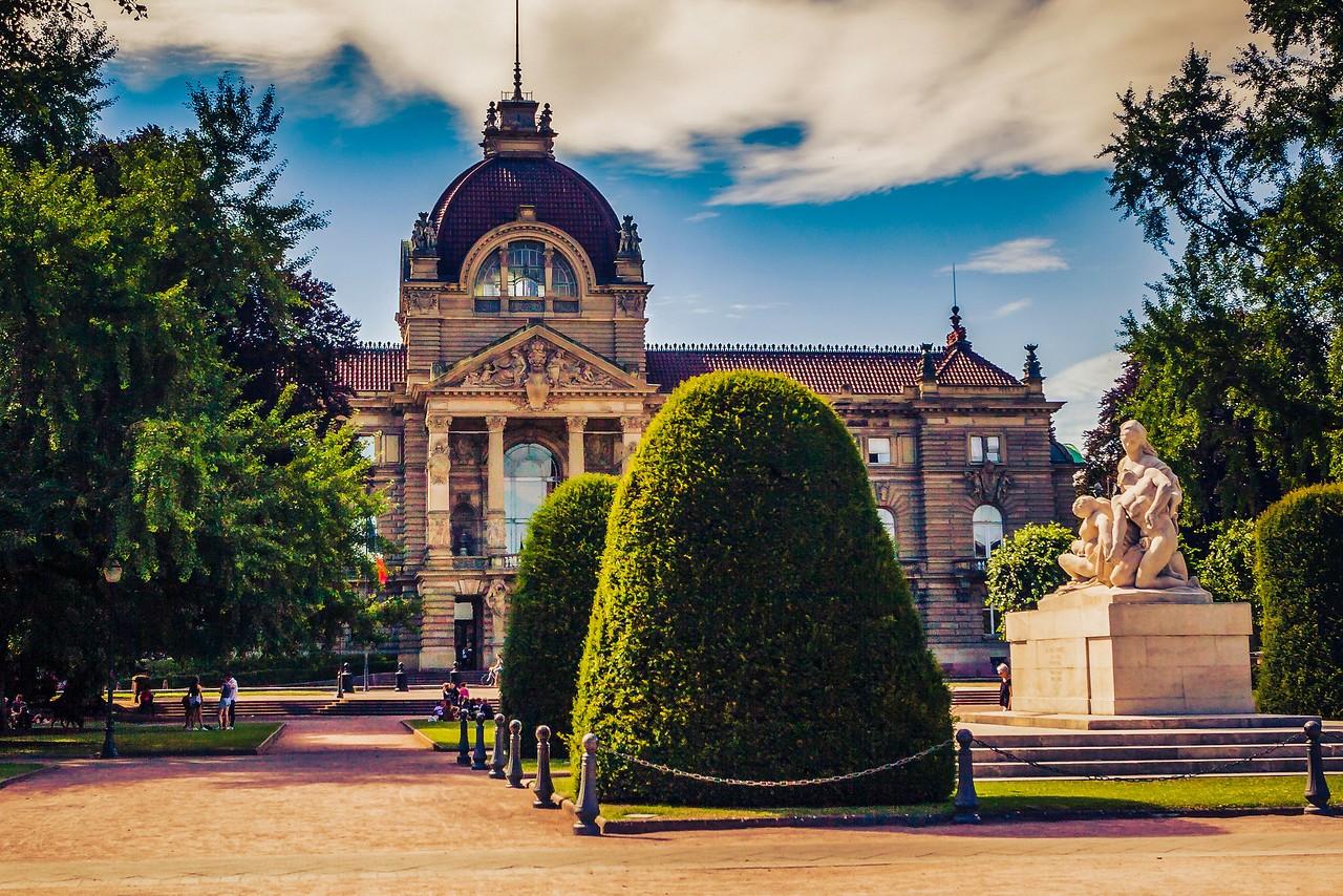法国斯特拉斯堡(Strasbourg),城市荟萃_图1-5