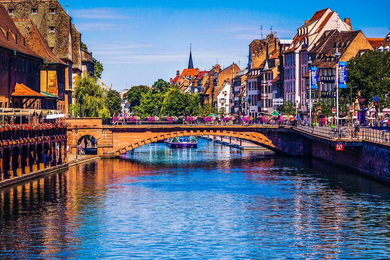 法国斯特拉斯堡(Strasbourg),城市荟萃_图1-10