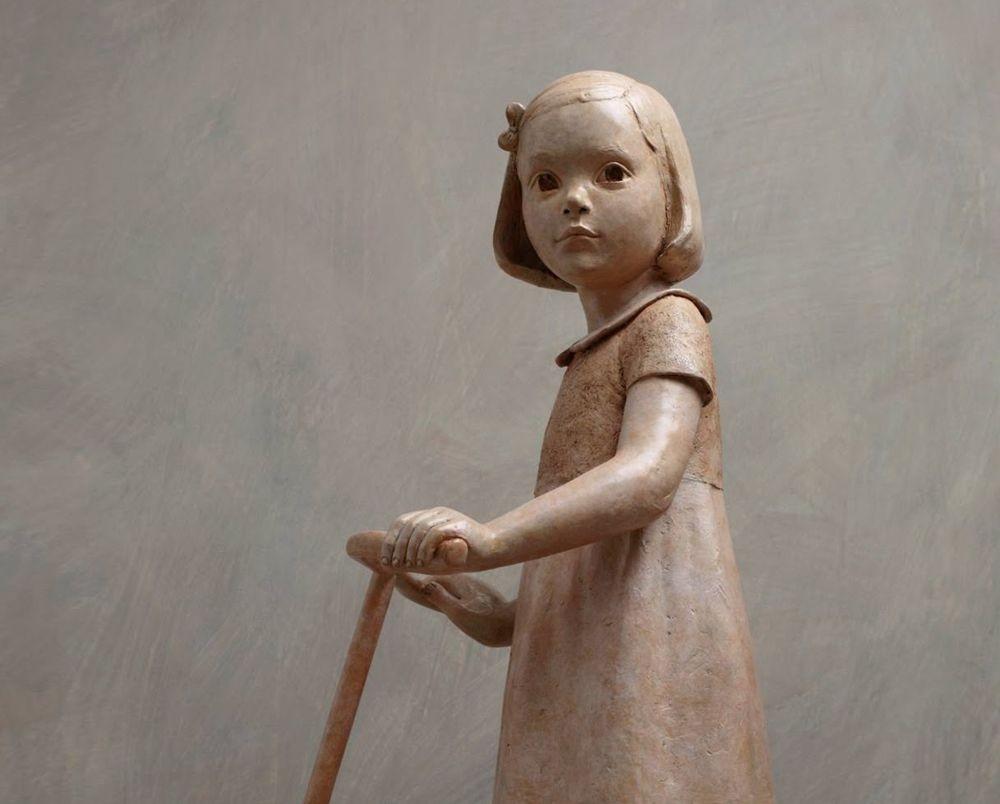 雕塑家贝里特.希尔德作品展_图1-5
