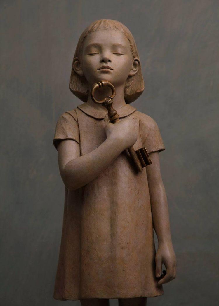 雕塑家贝里特.希尔德作品展_图1-12
