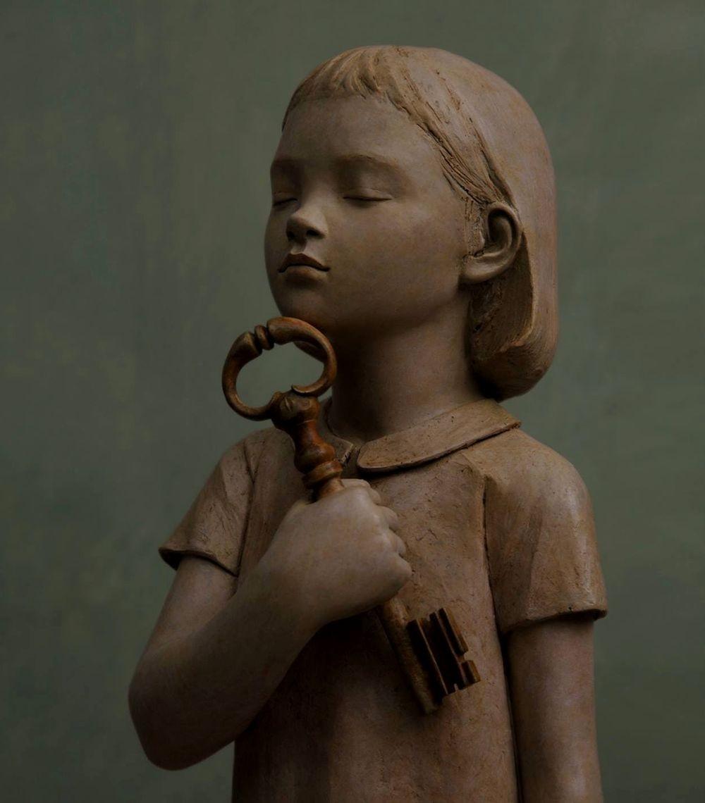 雕塑家贝里特.希尔德作品展_图1-13