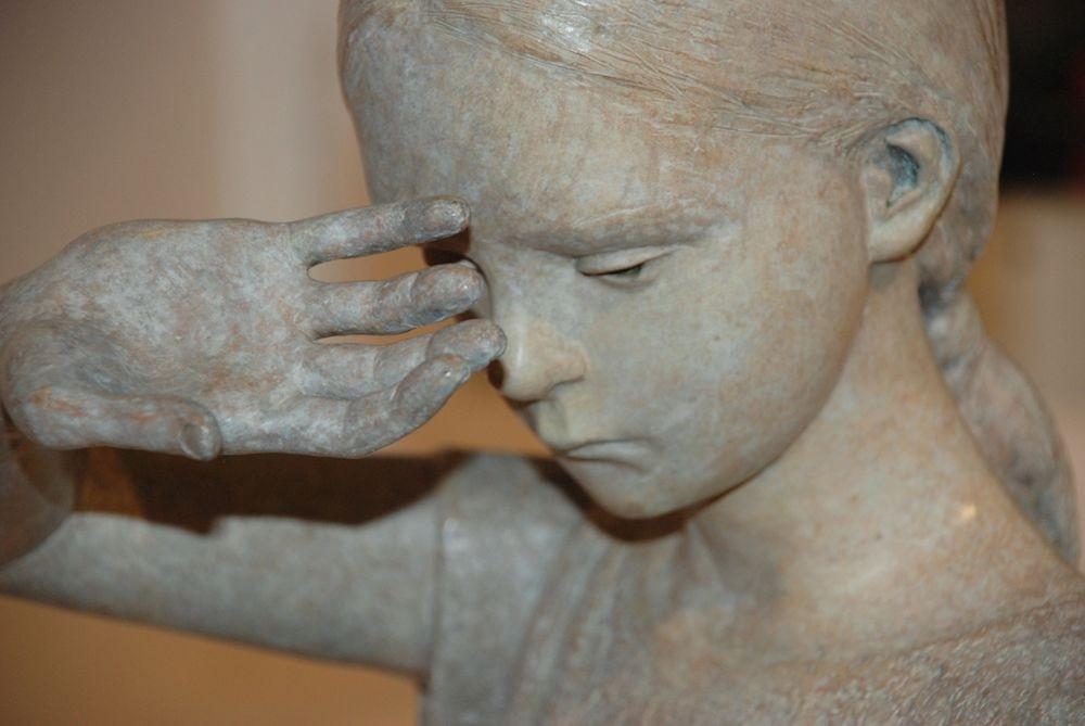雕塑家贝里特.希尔德作品展_图1-16