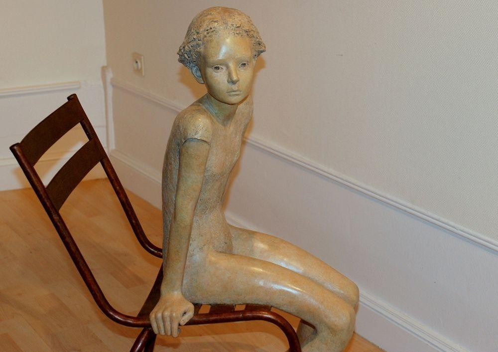 雕塑家贝里特.希尔德作品展_图1-17