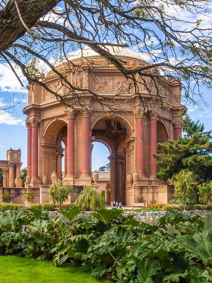 旧金山艺术宫(Palace of Fine Arts),独特的建筑_图1-7