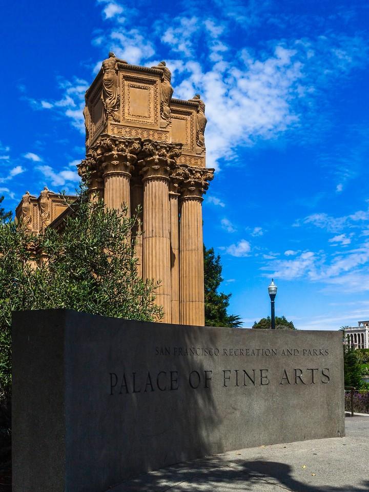 旧金山艺术宫(Palace of Fine Arts),独特的建筑_图1-6