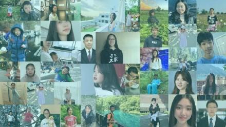 美国V视:青少年组织文化桥在疫情期间提供英语公益课程_图1-2