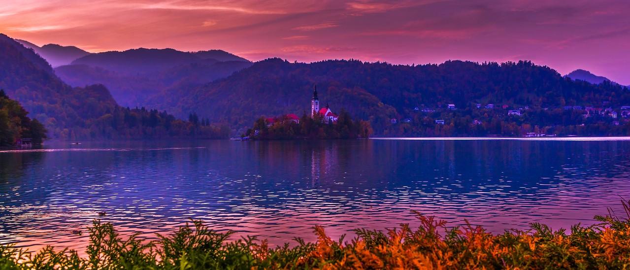 斯洛文尼亚布莱德湖(Lake Bled),美丽湖景_图1-8