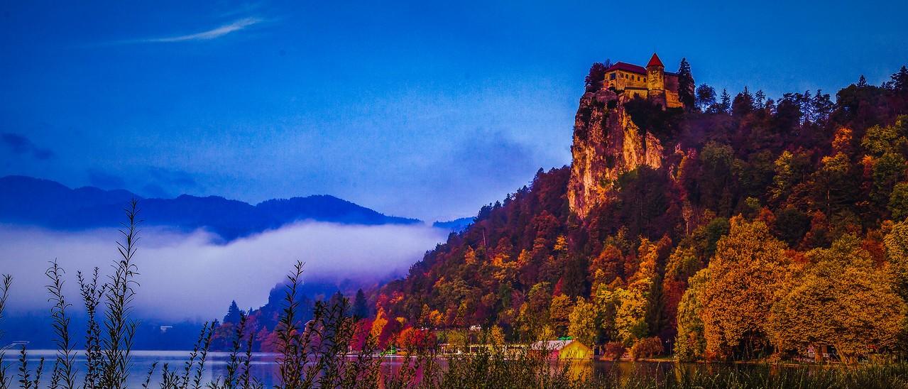 斯洛文尼亚布莱德湖(Lake Bled),美丽湖景_图1-7