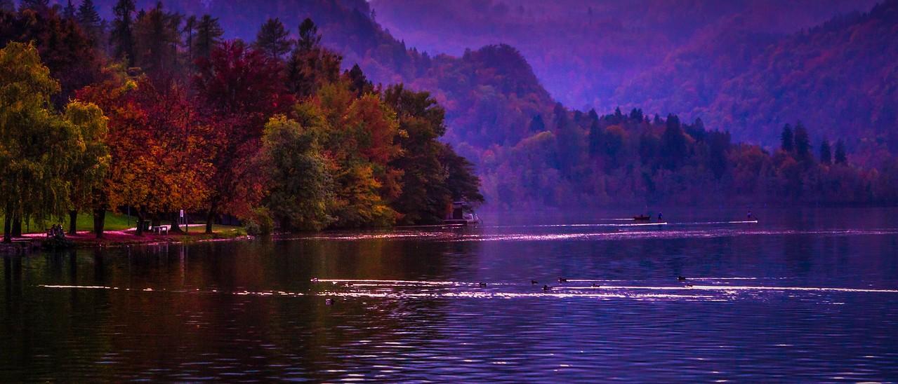 斯洛文尼亚布莱德湖(Lake Bled),美丽湖景_图1-6
