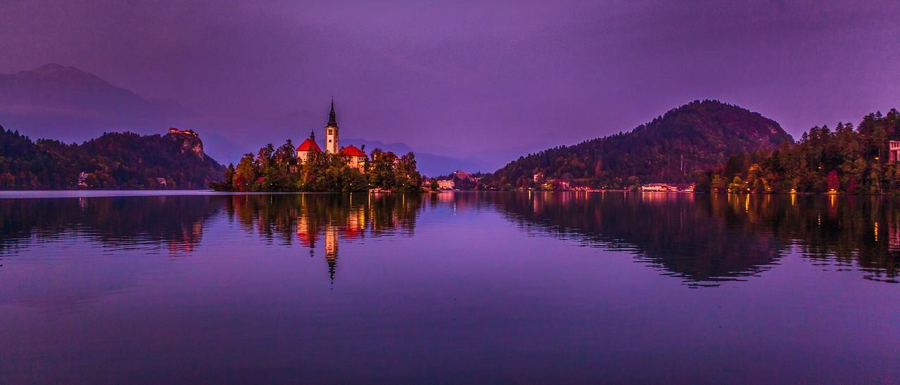 斯洛文尼亚布莱德湖(Lake Bled),美丽湖景_图1-5