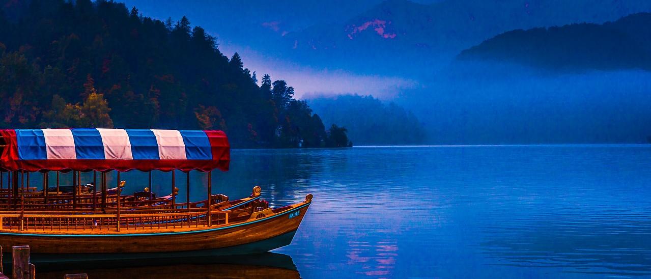斯洛文尼亚布莱德湖(Lake Bled),美丽湖景_图1-2
