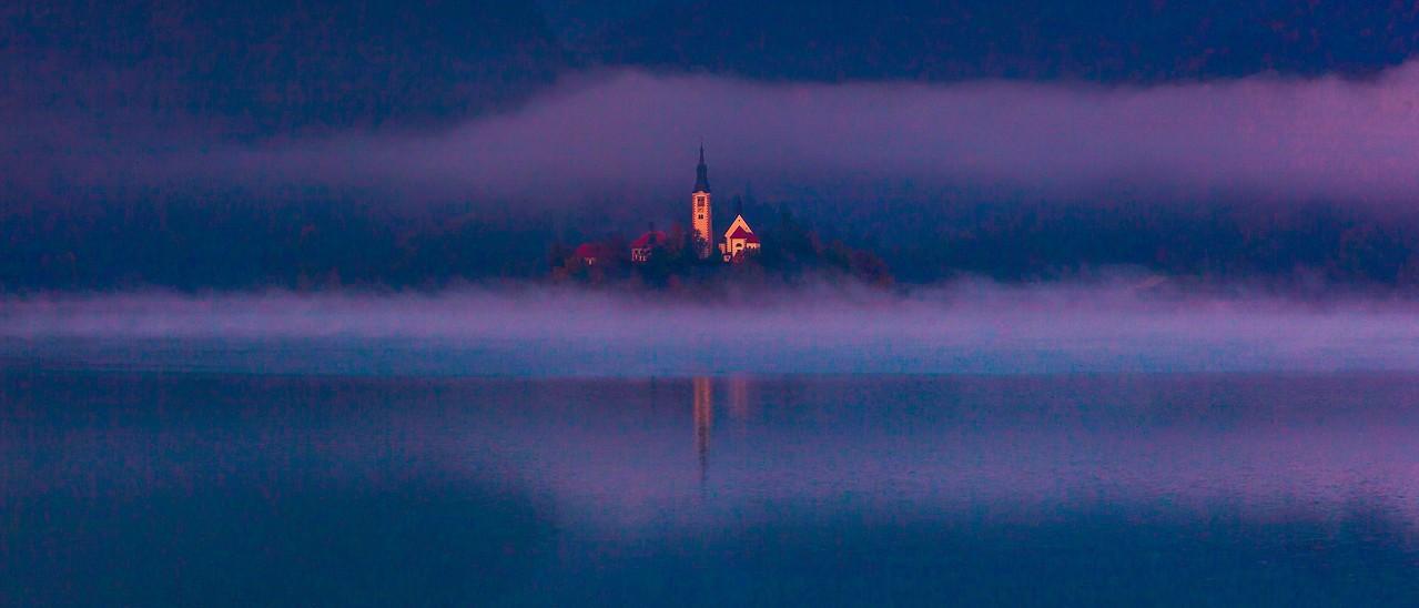 斯洛文尼亚布莱德湖(Lake Bled),美丽湖景_图1-3